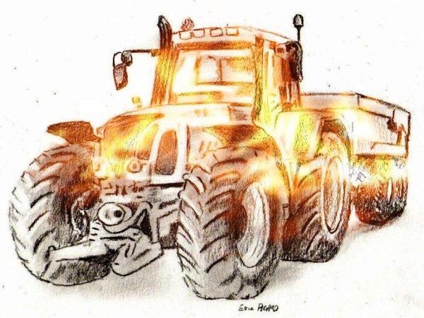 Tracteur agricole : Forme