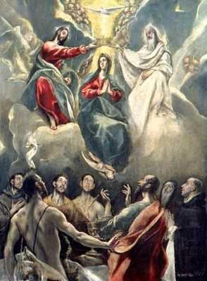 El Greco : La vierge