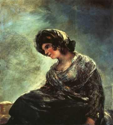 Francisco Goya : La laitière de Bordeaux