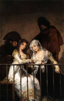 Francisco Goya : Les mariées au balcon