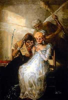 Francisco Goya : Les vieilles