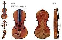 Violon : Les luthiers