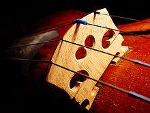 Violon : Les quatre cordes