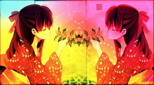 Geisha : Fond de blog