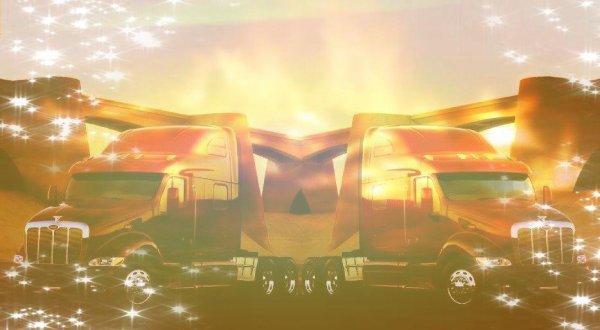 Camion : Fond de blog