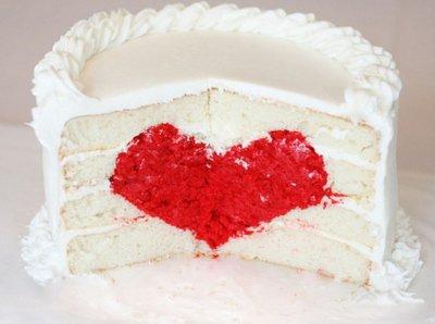 Le gâteau de l'amour