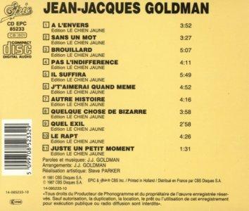 Jean-Jacques Goldman : Démodé (1981)