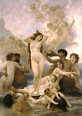 William Bouguereau : La naissance de Venus