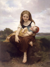 William Bouguereau : La S½ur aînée