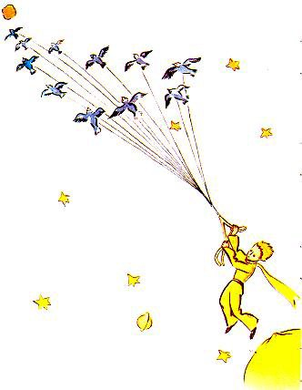 Le Petit Prince : CHAPITRE IX