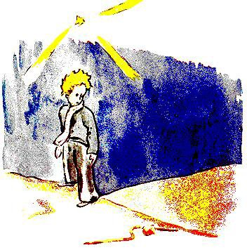 Le Petit Prince : CHAPITRE XVII