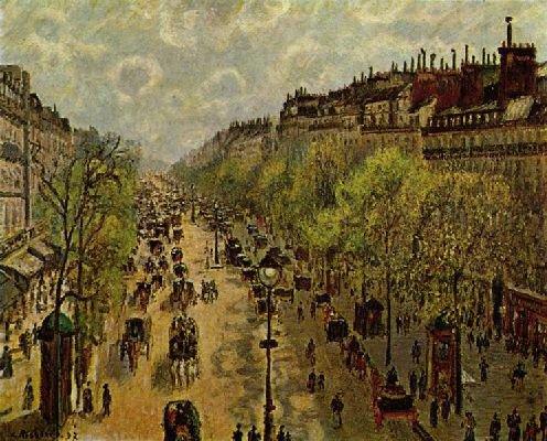Camille Pissaro : Boulevard Montmartre