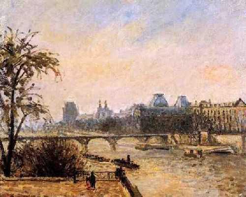 Camille Pissaro : Le pont neuf
