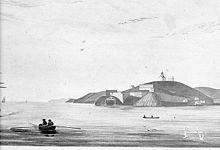 Ile d'Alcatraz : Le fort d'Alcatraz