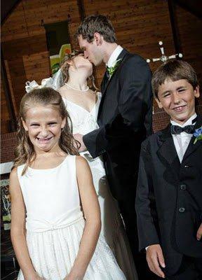 Mariage insolite : Les enfants