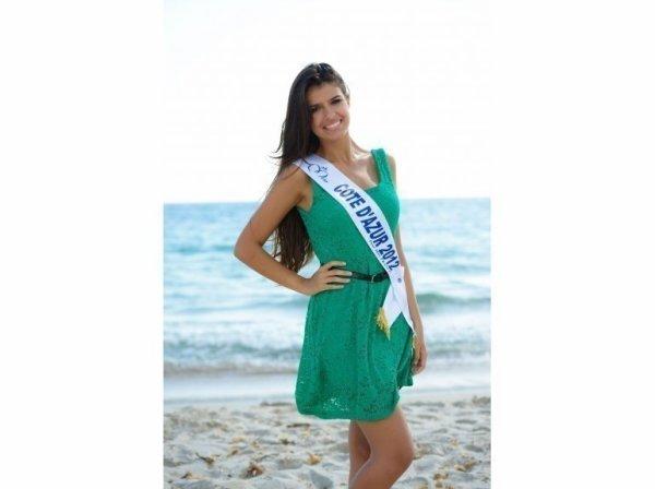 Charlotte Mint : Miss Côte d'Azur