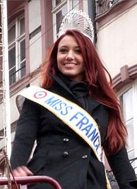 Delphine Wespiser : Miss France 2012