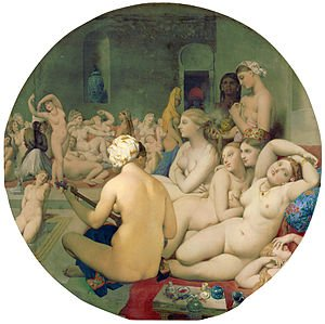Jean-Auguste-Dominique Ingres : Le Bain turc