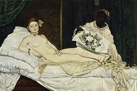 Édouard Manet : Olympia