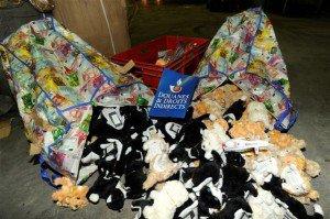 Jouet : S.O.S conso : 15 000 jouets dangereux détruits par les douanes