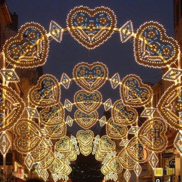 Illumination de Noël à Montbéliard