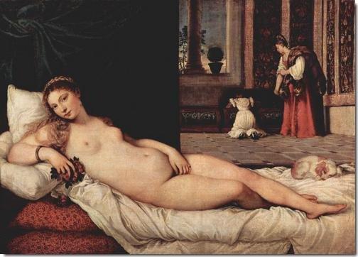Titien : Vénus d'Urbin