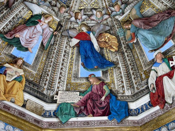 Perspective : Exemples de perspective d'½uvres de la Renaissance