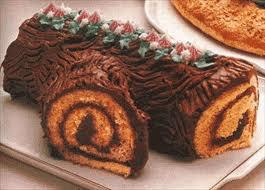 Bûche de Noël : Du gâteau de Noël à la bûche