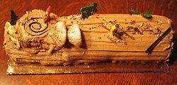 Bûche de Noël : Le dessert