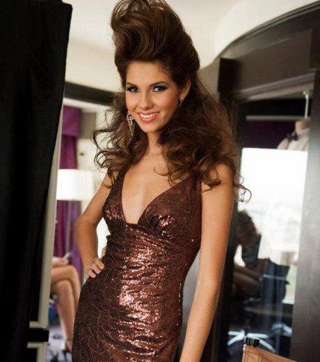 Marie Payet : La France a atteint le top 10 du concours Miss Univers 2012
