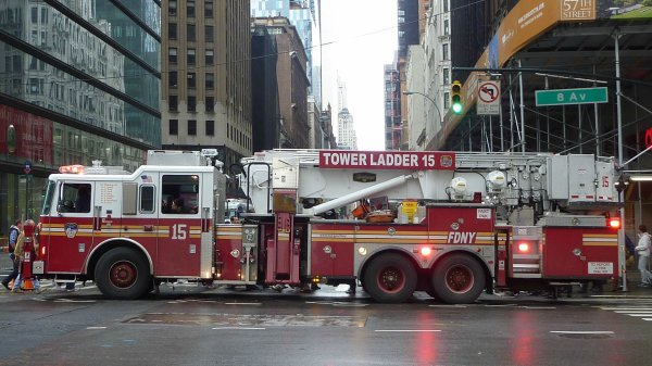 New York : Sapeurs-pompiers
