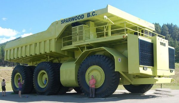 Camion : Le plus gros camion du monde