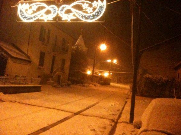 Tronville-en-Barrois : Sous la neige