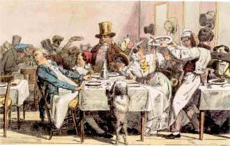 Déjeuner : XIXe siècle
