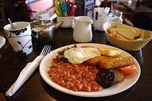 Déjeuner : Repas de type anglo-saxon