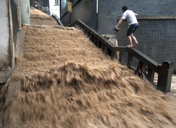 Chine : Tempête estivale