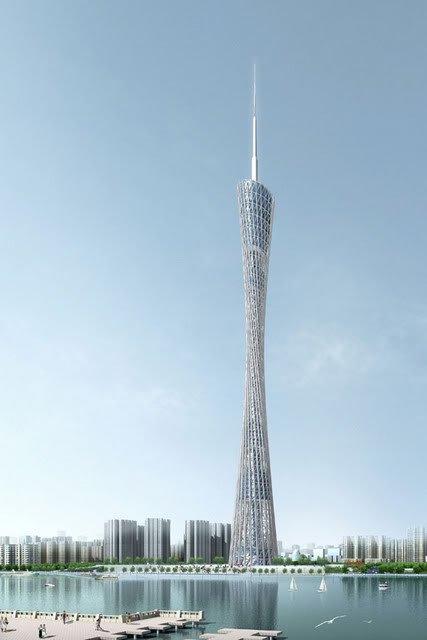 La tour de Télévision de Guangzhou