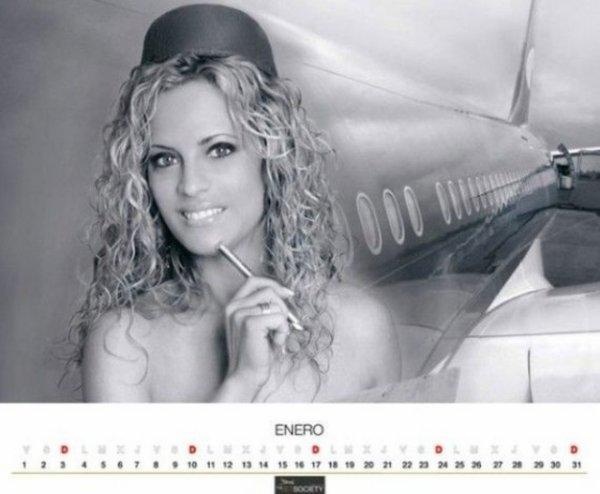 Calendrier 2011 : Aeromozas Mexicanas