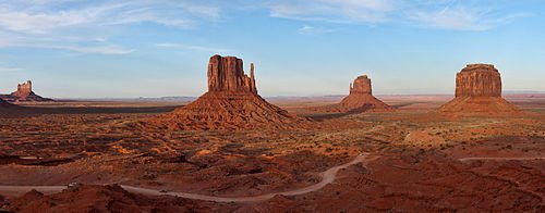Monument Valley : Les rochers
