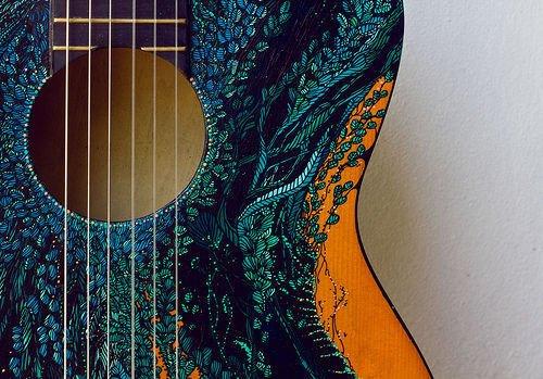 Guitare : Matériaux
