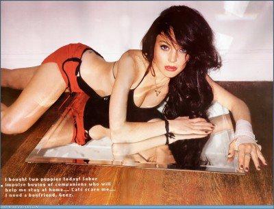 Lindsay Lohan en 2007