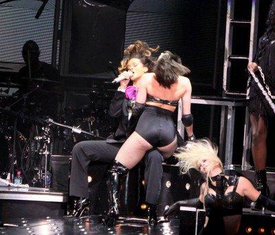 Rihanna : Lors de son concert à Paris-Bercy