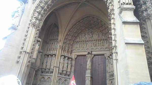 Metz : La cathédrale Saint-Étienne de Metz