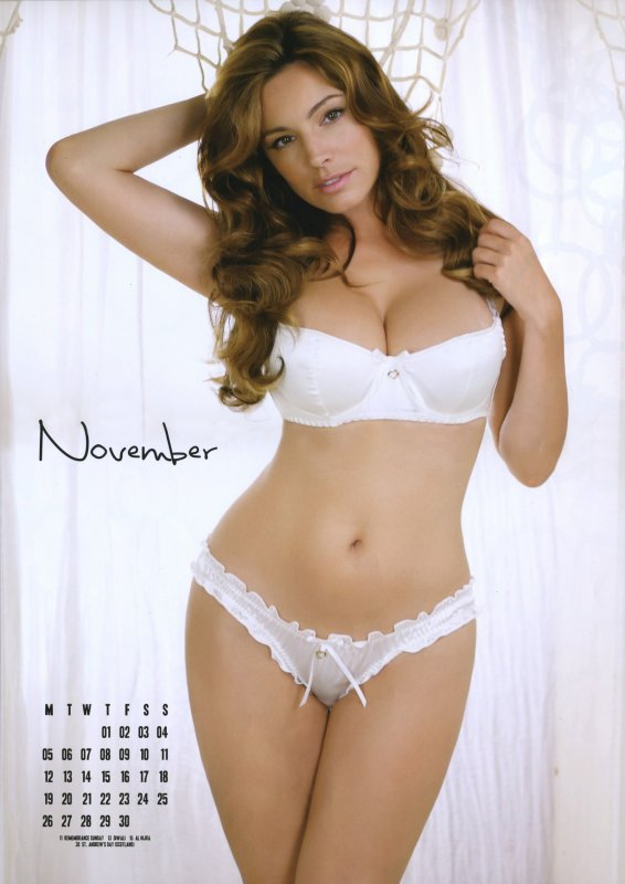 Kelly Brook : Calendrier 2012