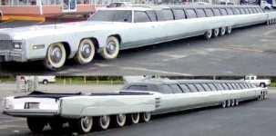 La voiture la plus longue du monde