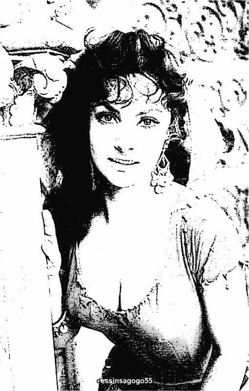 Gina Lollobrigida : dessinsagogo55