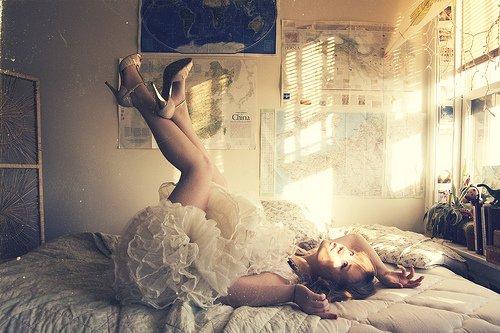 Sexy : Dans un lit