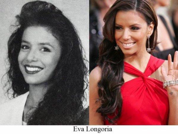 Eva Longoria : Les stars jeunes et maintenant
