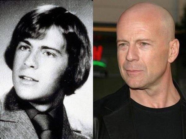 Bruce Willis : Les stars jeunes et maintenant