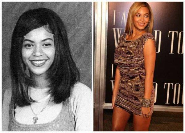 Beyoncé Knowles : Les stars jeunes et maintenant
